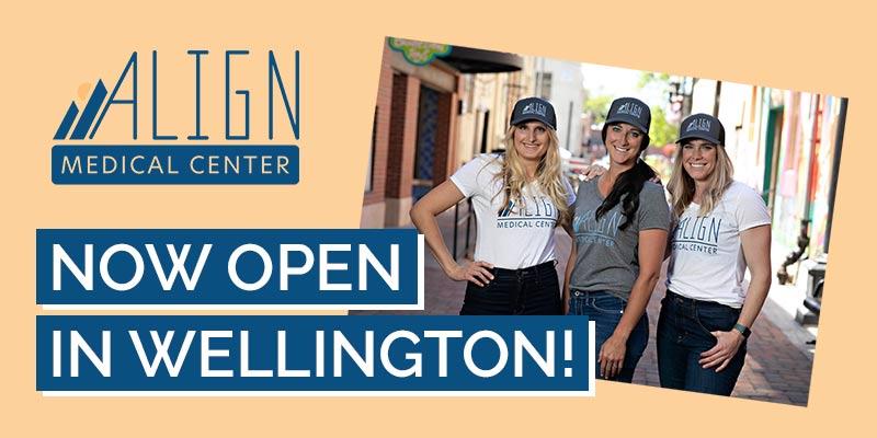 Now Open in Wellington Colorado